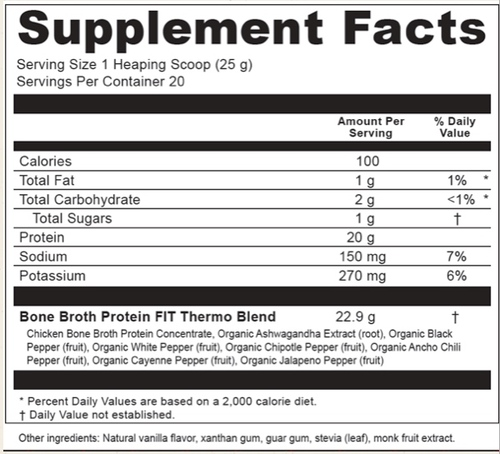 Supplement Facts for http://megafood-vitamins.com/images/Broth Protein FIT Thermo Burner