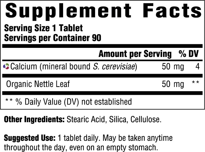Supplement Facts for http://megafood-vitamins.com/images/Calcium