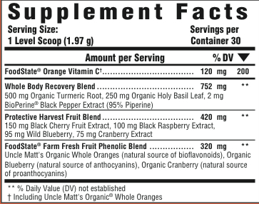 Supplement Facts for http://megafood-vitamins.com/images/Daily Turmeric