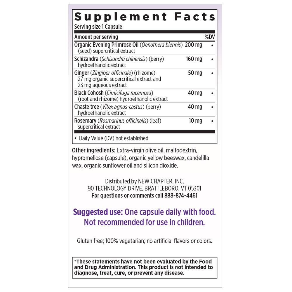 Supplement Facts for http://megafood-vitamins.com/images/Estrotone