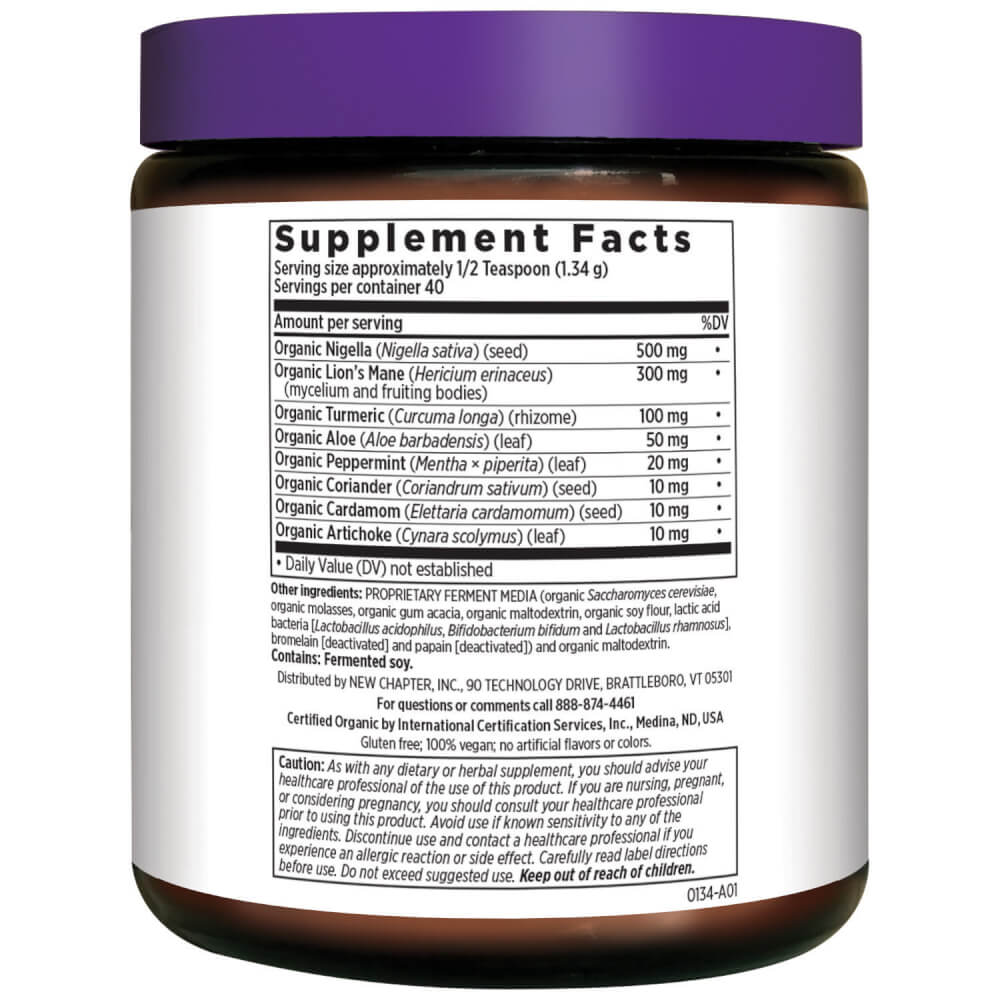 Supplement Facts for http://megafood-vitamins.com/images/Fermented Black Seed Booster Powder