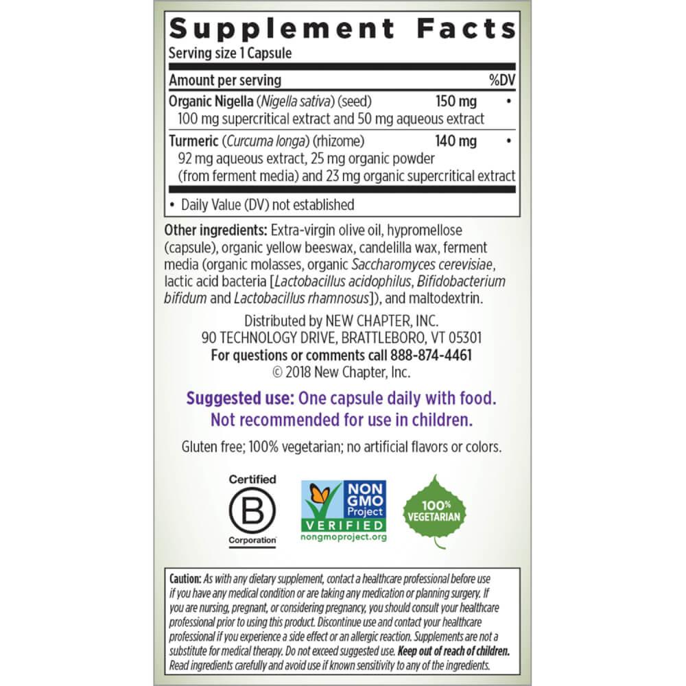 Supplement Facts for http://megafood-vitamins.com/images/Golden Black Seed