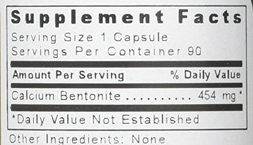 Supplement Facts for http://megafood-vitamins.com/images/Medi-Clay-FX