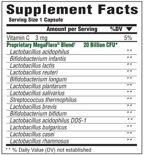 Supplement Facts for http://megafood-vitamins.com/images/MegaFlora