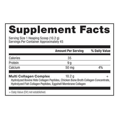 Supplement Facts for http://megafood-vitamins.com/images/Multi-Collagen Protein