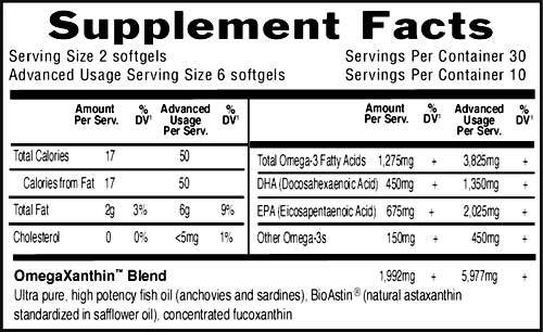Supplement Facts for http://megafood-vitamins.com/images/Oceans 3 Beyond Omega-3