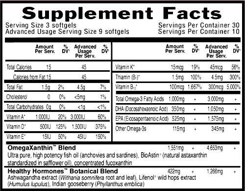 Supplement Facts for http://megafood-vitamins.com/images/Oceans 3 Healthy Hormones