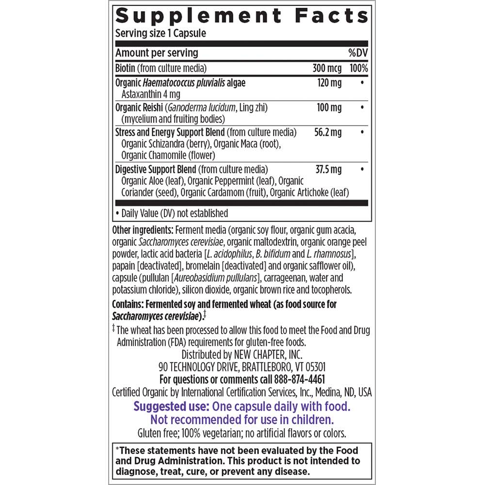 Supplement Facts for http://megafood-vitamins.com/images/Perfect Hair Skin and Nails