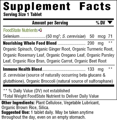 Supplement Facts for http://megafood-vitamins.com/images/Selenium