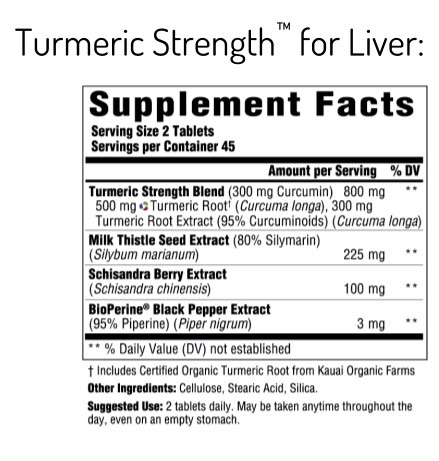 Supplement Facts for http://megafood-vitamins.com/images/Turmeric Strength for Liver