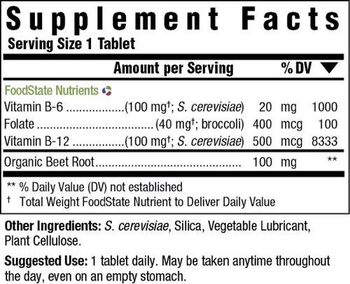 Supplement Facts for http://megafood-vitamins.com/images/Vegan B-12