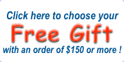 MegaFood Vitamins offers a free gift on orders over $150 in the U.S.