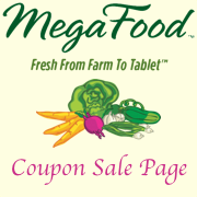 Different MegaFood Sale Specials each month!