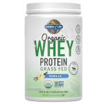 Organic Whey Protein Product Page