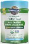 Perfect Food Raw Wheat Grass Juice Product Page
