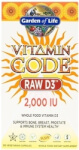 Vitamin Code RAW D3 Product Page
